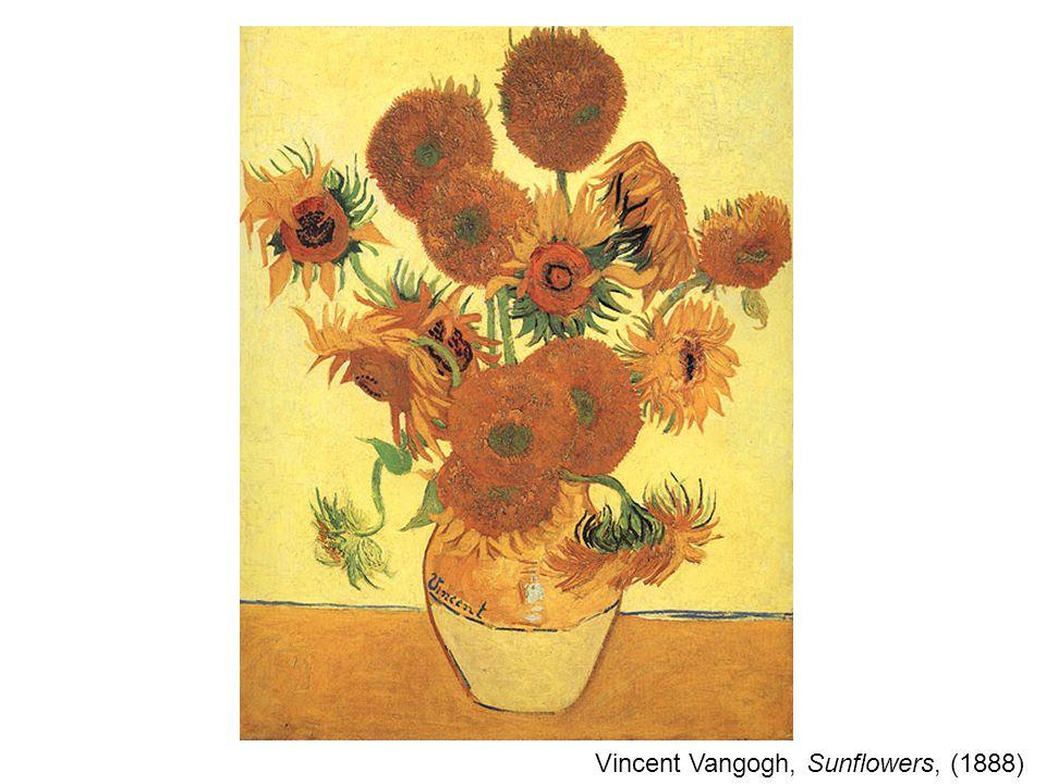 Vincent Vangogh, Sunflowers, (1888)