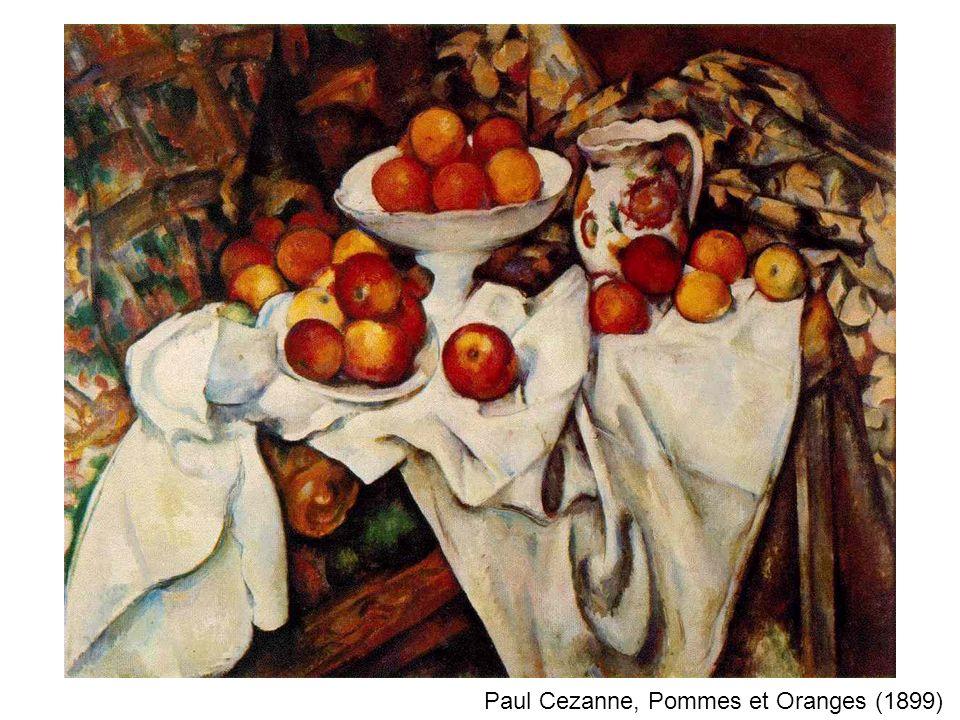 Paul Cezanne, Pommes et Oranges (1899)