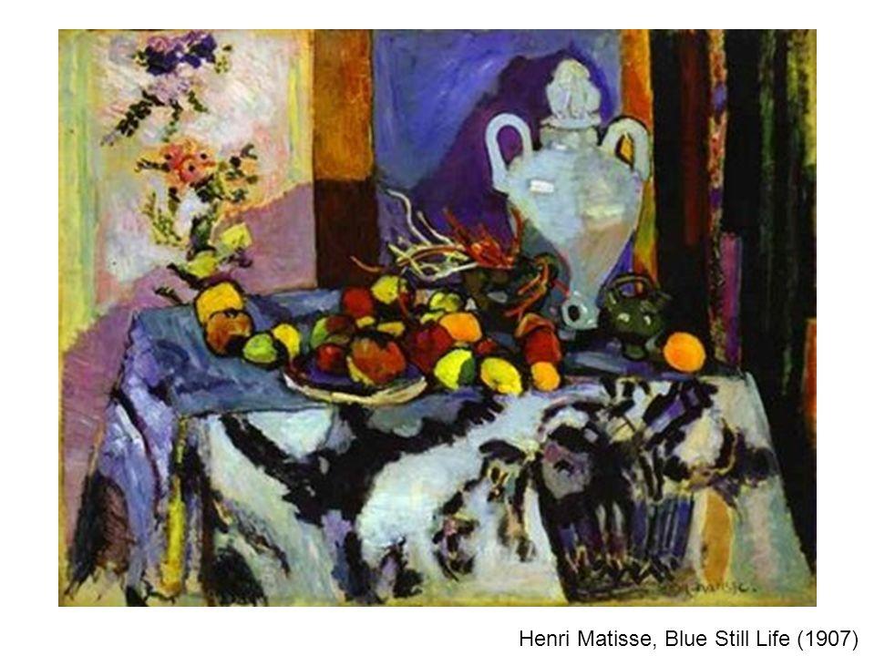 Henri Matisse, Blue Still Life (1907)