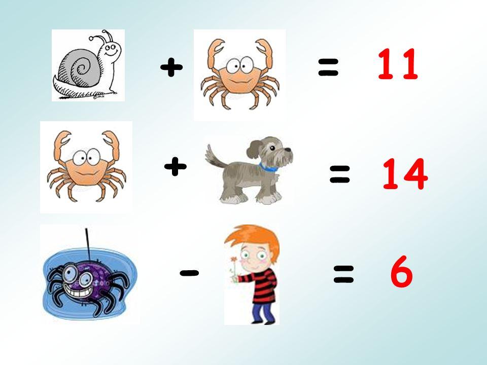 += + = - = 11 14 6