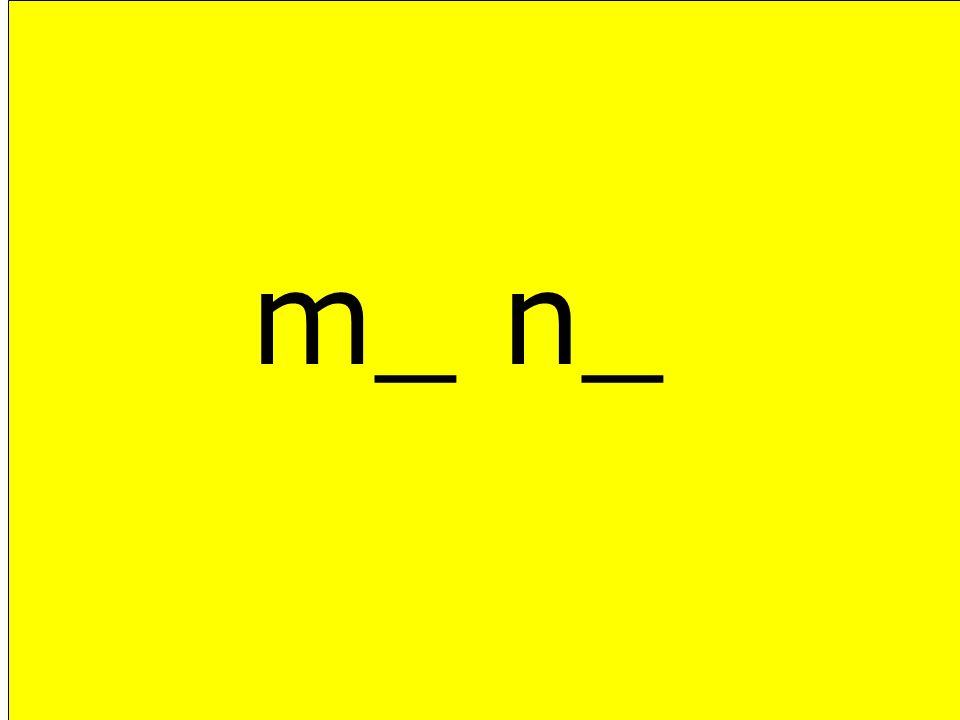 m_ n_
