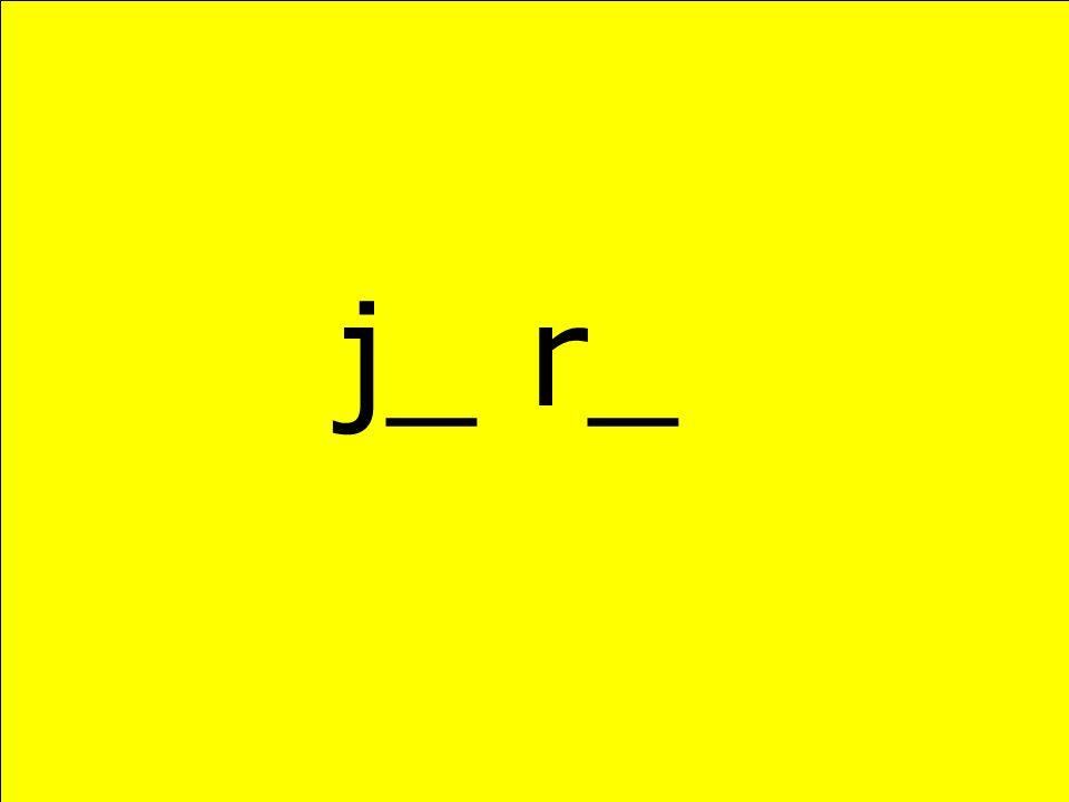 j_ r_