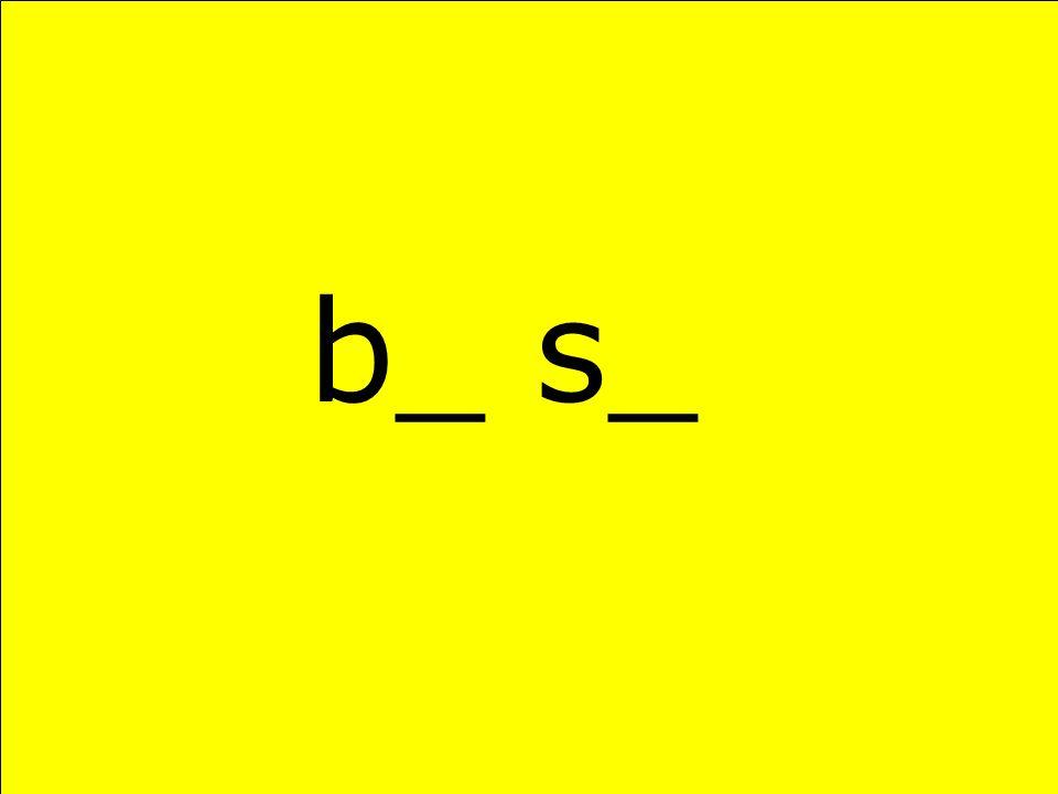 b_ s_