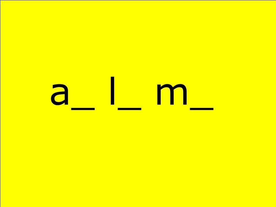 a_ l_ m_
