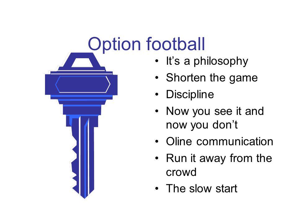 Offensive Line rules for veer blocking N T T E E B B F C F C CGTT Q TE SE F LR G