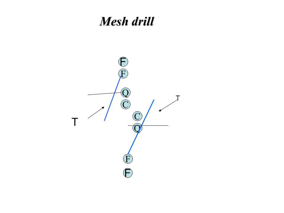 Mesh drill F Q C Q C F T T F F