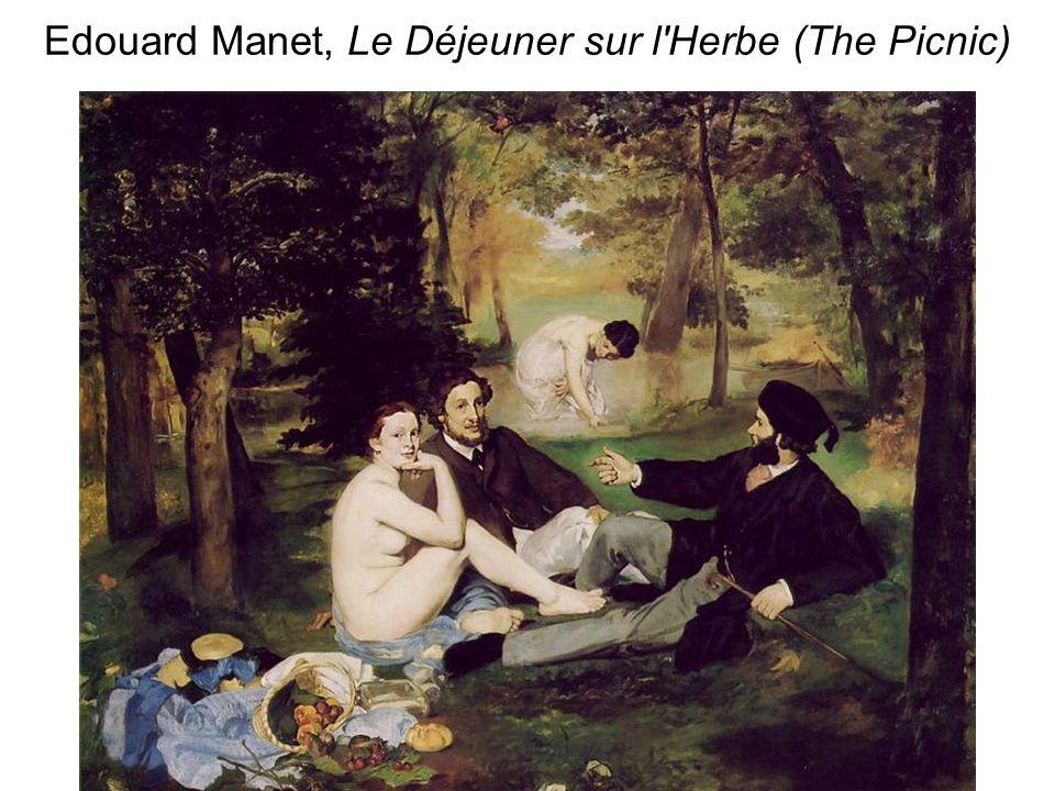 Edouard Manet, Le Déjeuner sur l'Herbe (The Picnic)