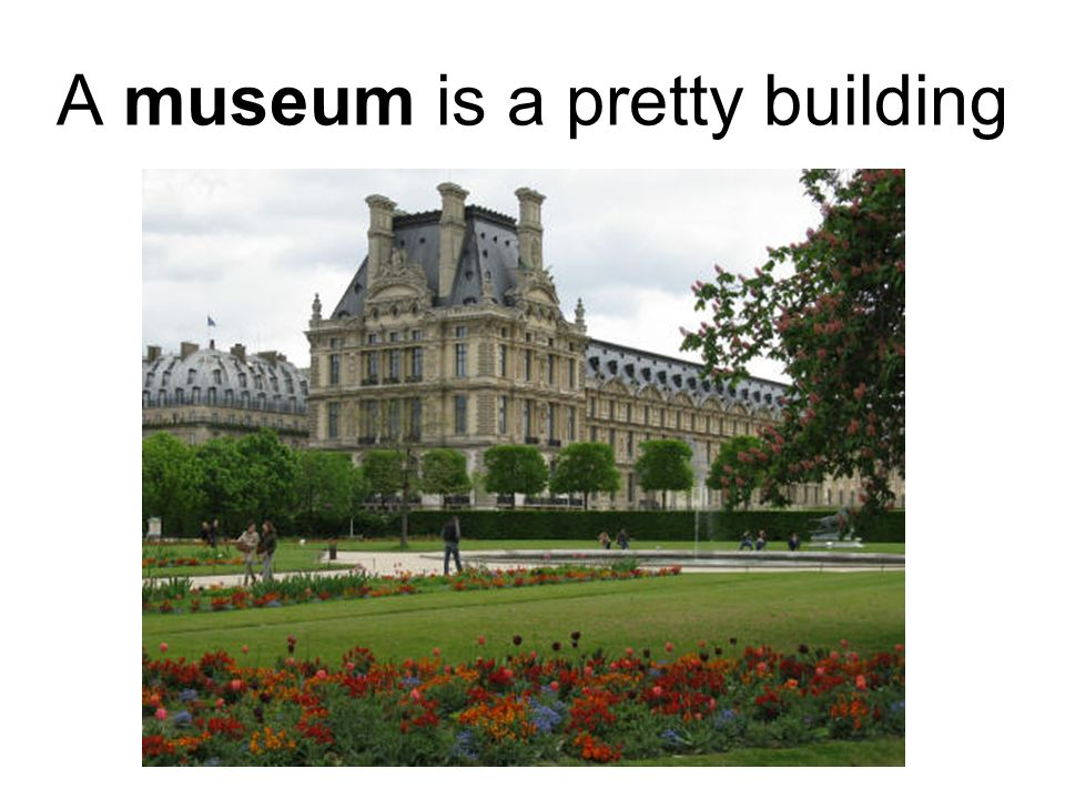 where people show many paintings and sculptures all together.