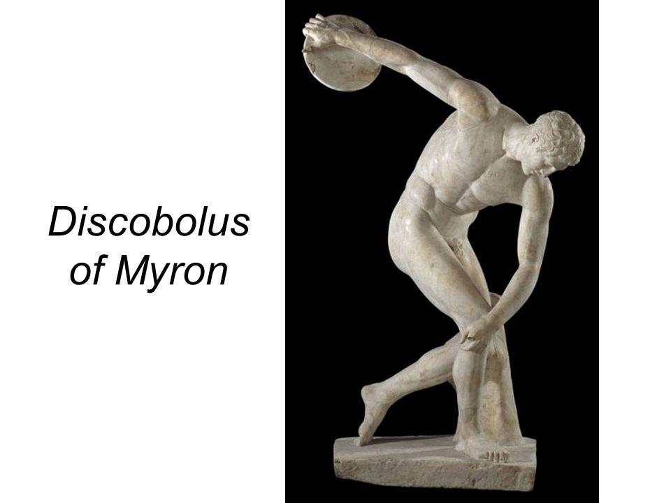 Discobolus of Myron