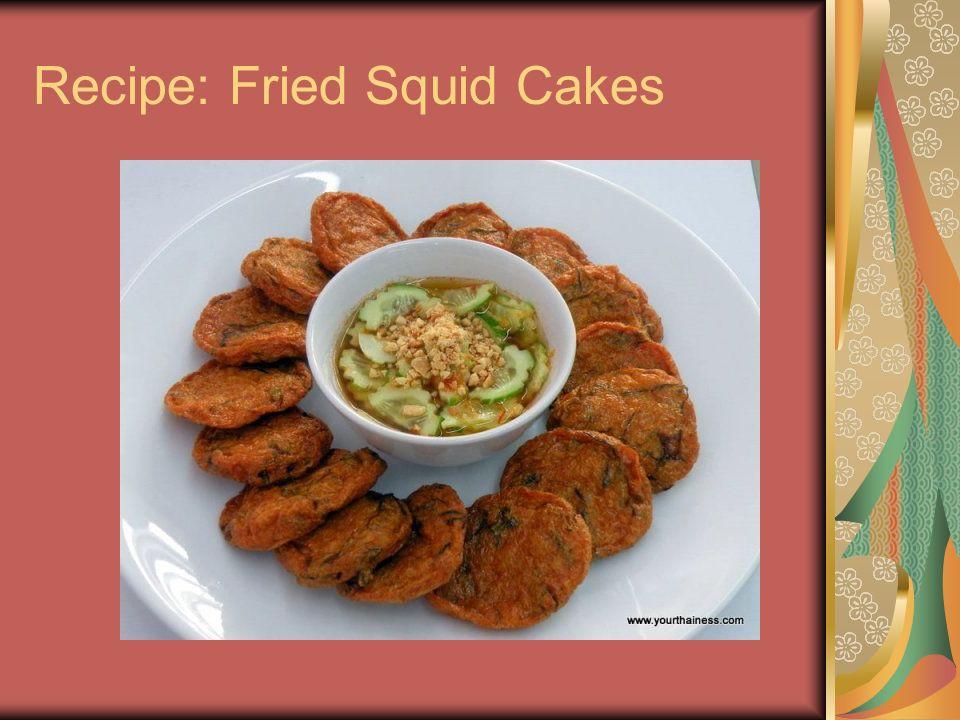 Recipe: Fried Squid Cakes