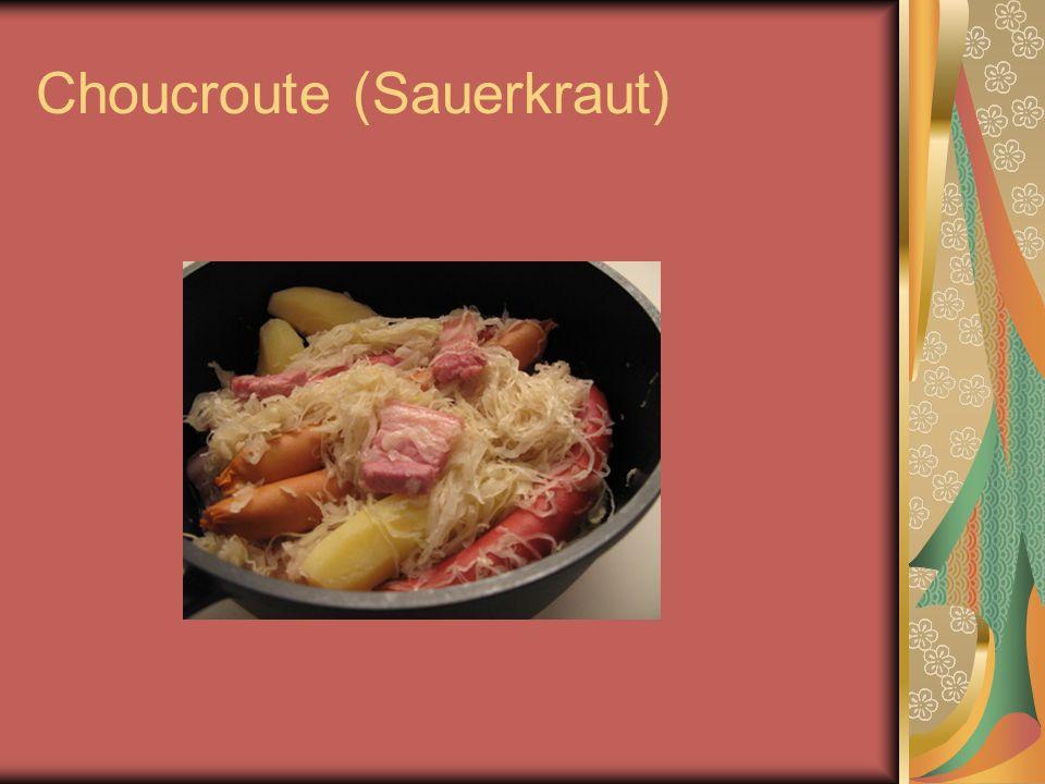 Choucroute (Sauerkraut)