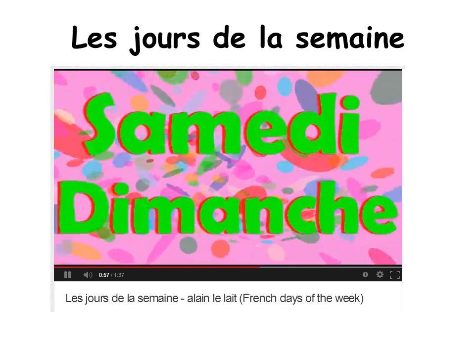 BBC Primary French chanson!