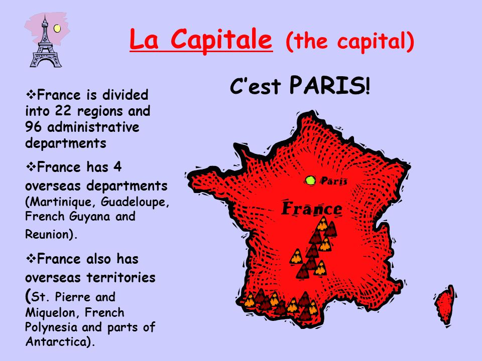 La Capitale (the capital) Cest PARIS .