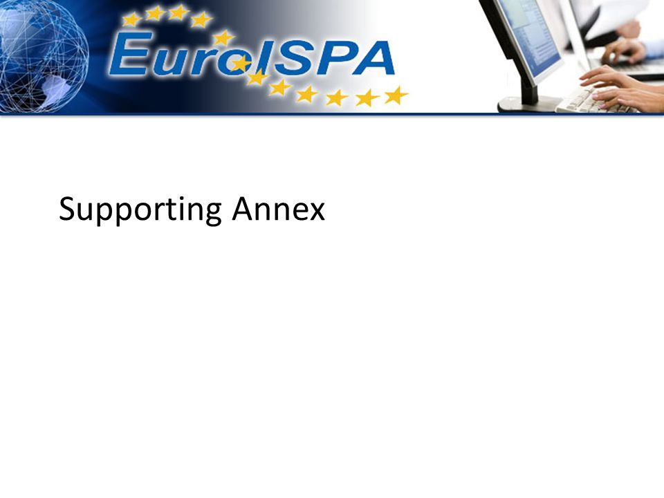 Supporting Annex