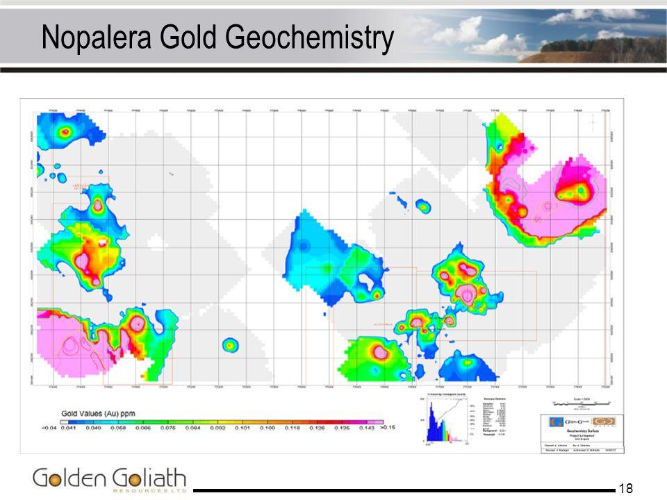 Nopalera Gold Geochemistry 18