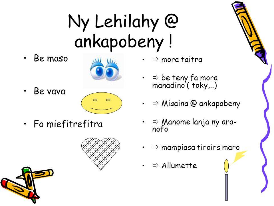 Ny Lehilahy @ ankapobeny .