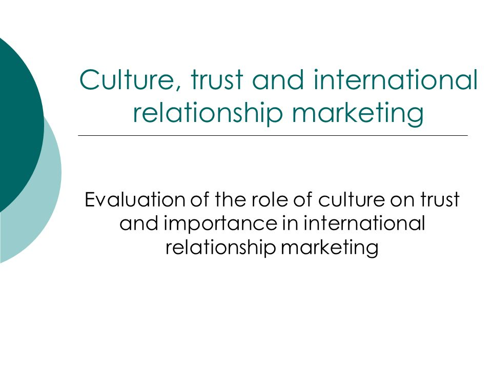 Enthusiasm Share value Trust Customer Marketer institutional based trust characteristic based trust process based trust