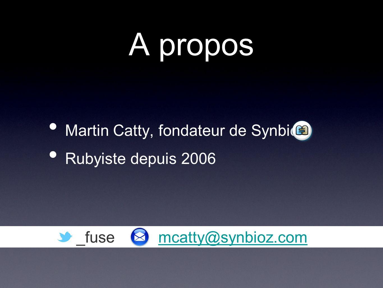 A propos Martin Catty, fondateur de Synbioz Rubyiste depuis 2006 _fuse mcatty@synbioz.commcatty@synbioz.com