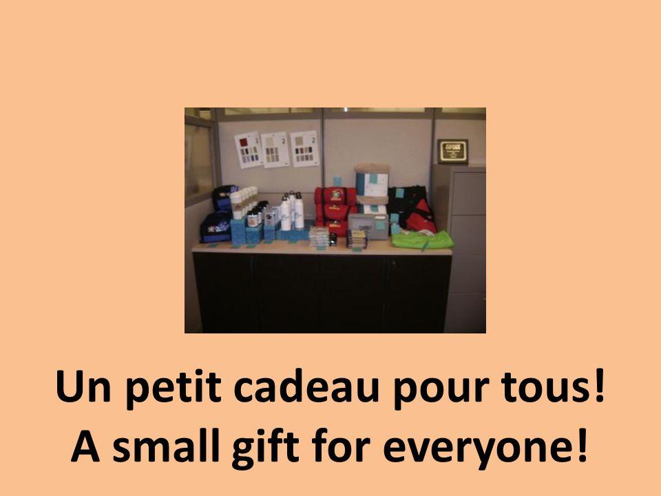 Un petit cadeau pour tous! A small gift for everyone!