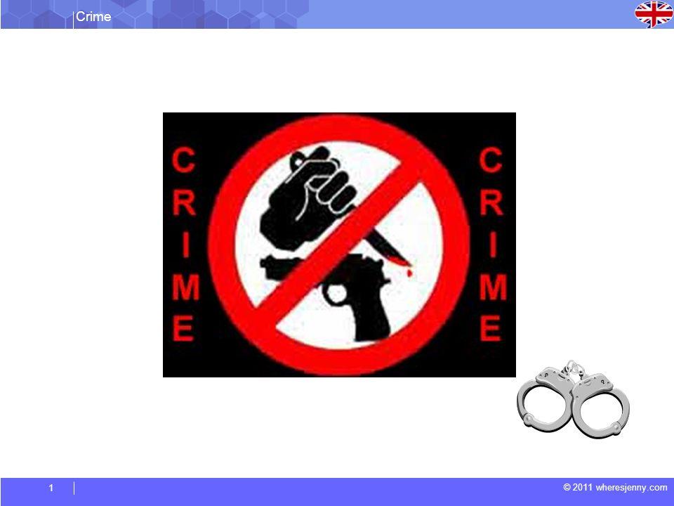 Crime © 2011 wheresjenny.com 1