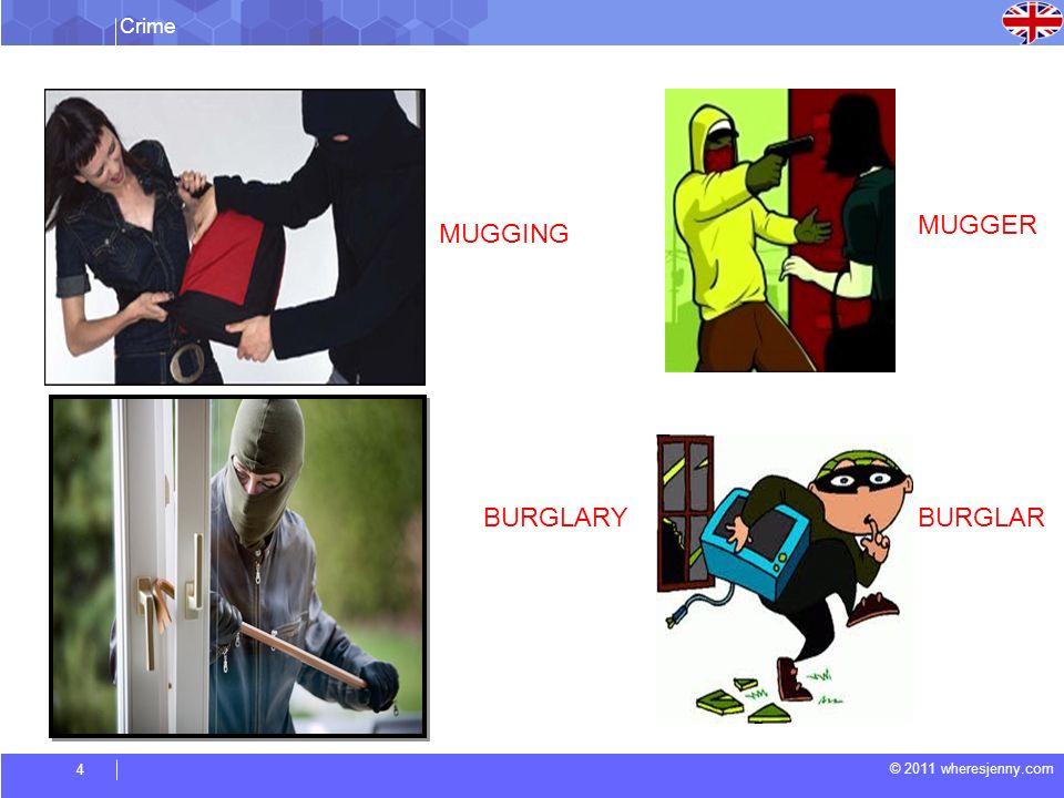 Crime © 2011 wheresjenny.com 5 SHOPLIFTING SHOPLIFTER MANSLAUGHTER