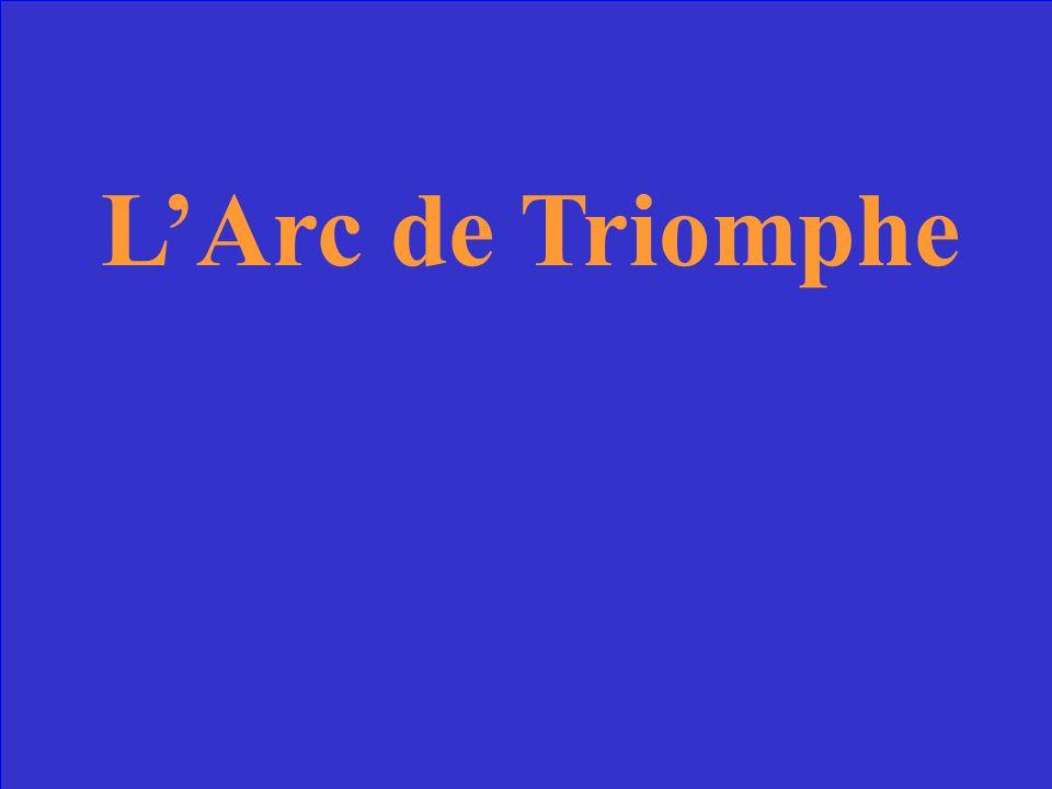 It commenorates Napoleons victories