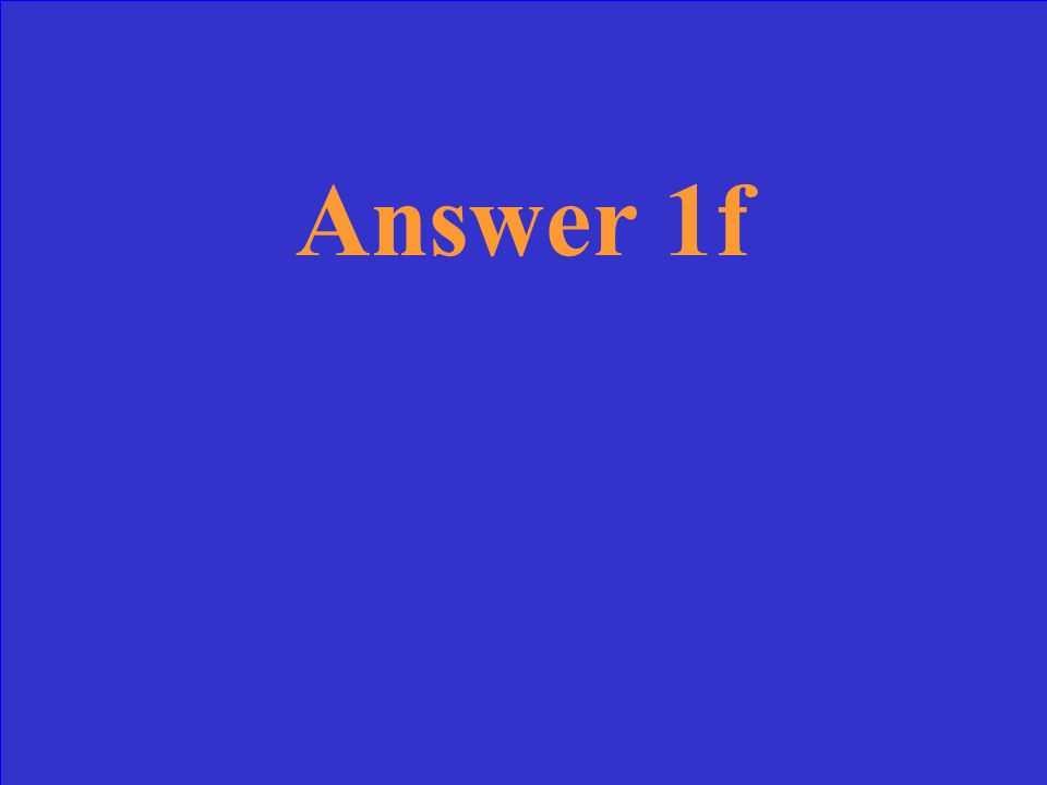 Question 5e