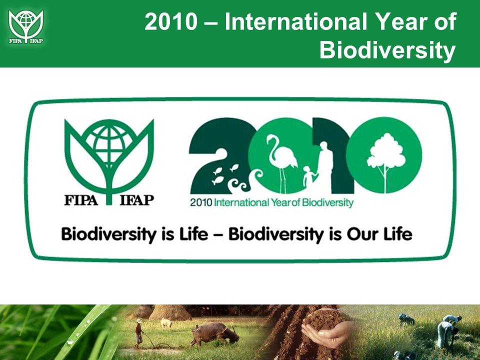 2010 – International Year of Biodiversity
