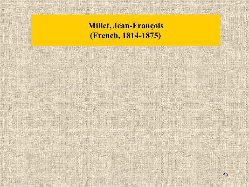 50 Millet, Jean-François (French, 1814-1875)