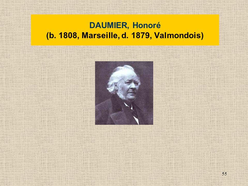 55 DAUMIER, Honoré (b. 1808, Marseille, d. 1879, Valmondois)