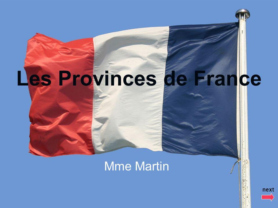 Les Provinces de France Mme Martin next