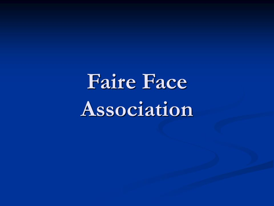 Faire Face Association