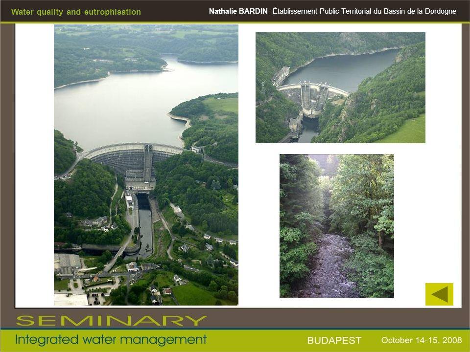 Nathalie BARDINÉtablissement Public Territorial du Bassin de la Dordogne Water quality and eutrophisation