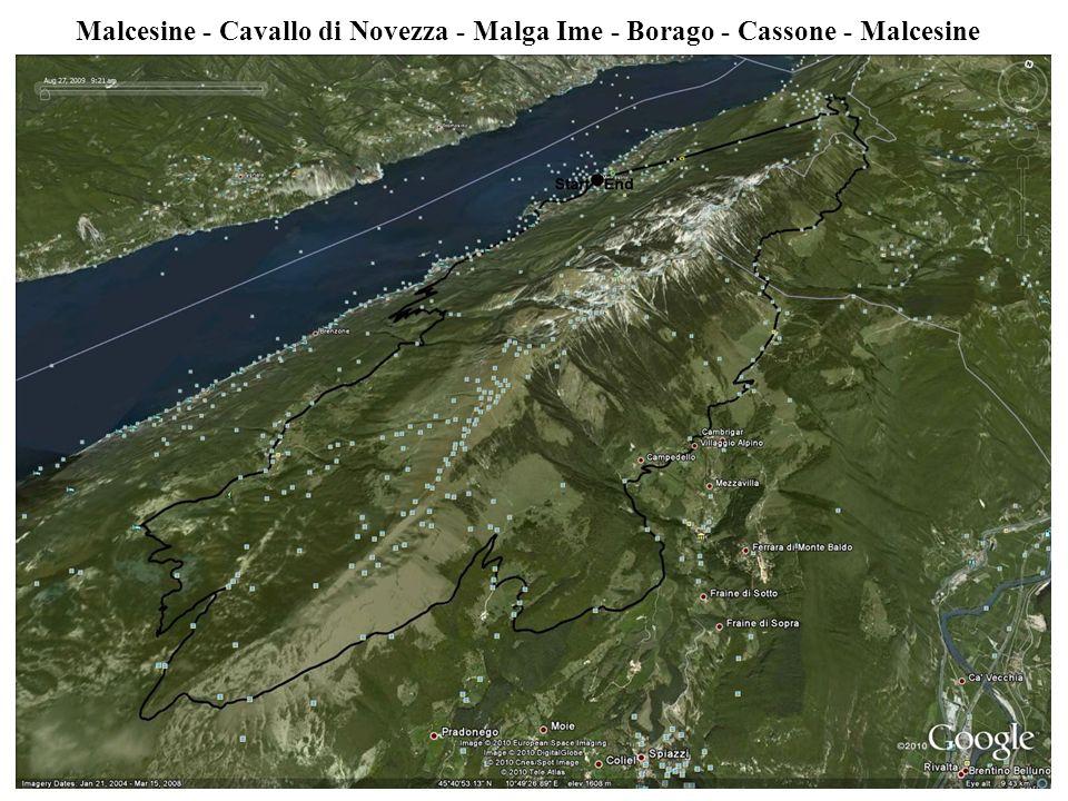 Malcesine - Cavallo di Novezza - Malga Ime - Borago - Cassone - Malcesine