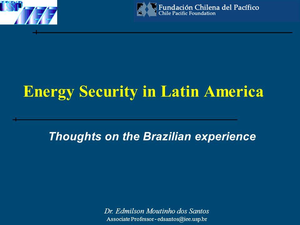 Dr.Edmilson Moutinho dos Santos Associate Professor - edsantos@iee.usp.br Dr.