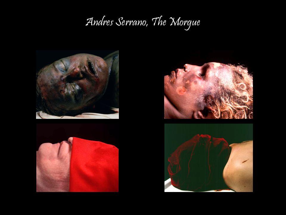 10 Andres Serrano, The Morgue