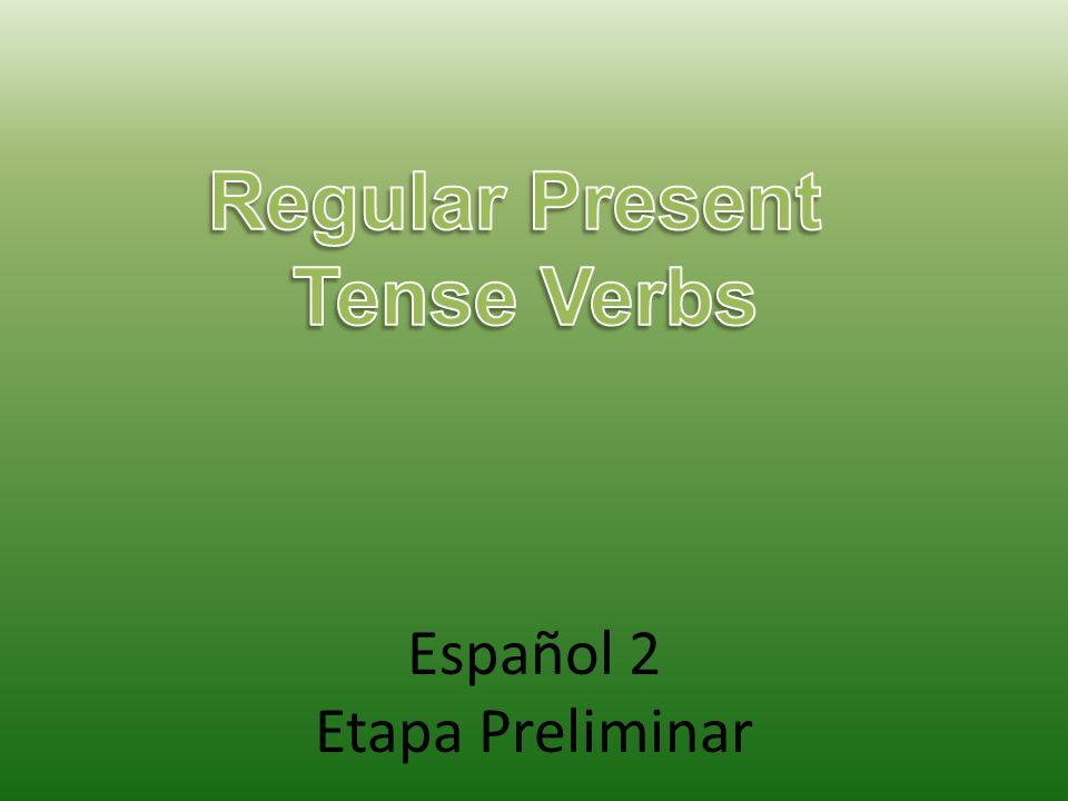 Español 2 Etapa Preliminar