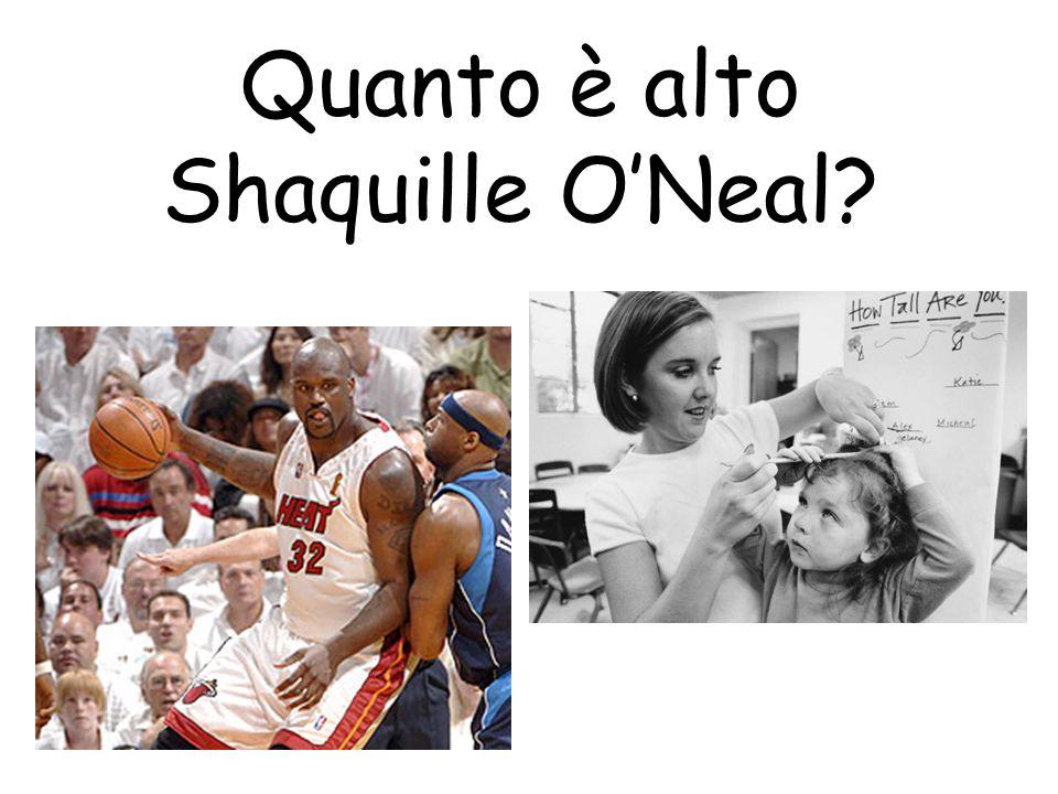 Quanto è alto Shaquille ONeal