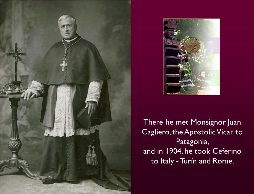 But Ceferino didnt like the government school so his father sent him to a Salesian School – Pius IX in Buenos Aires.