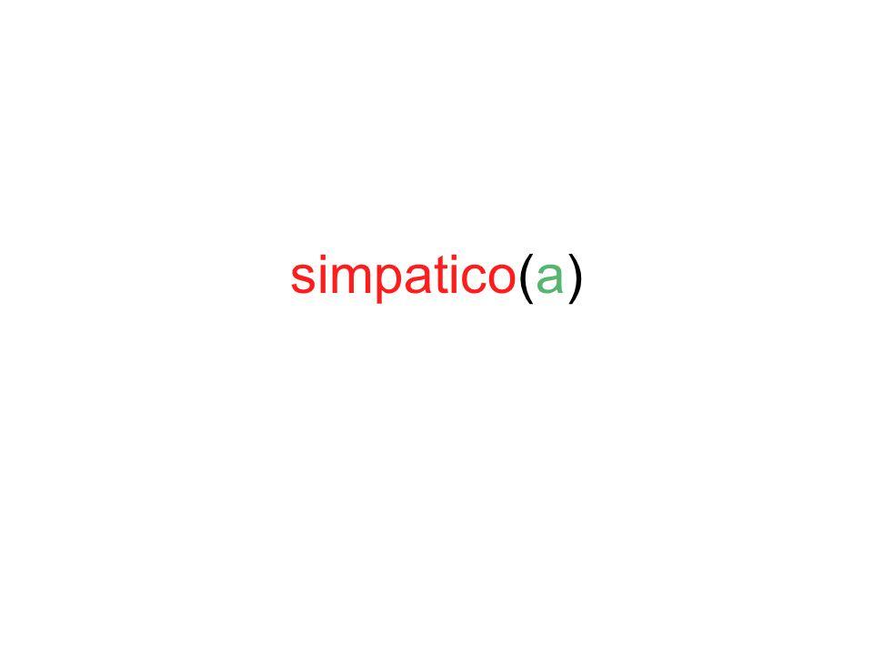 simpatico(a)