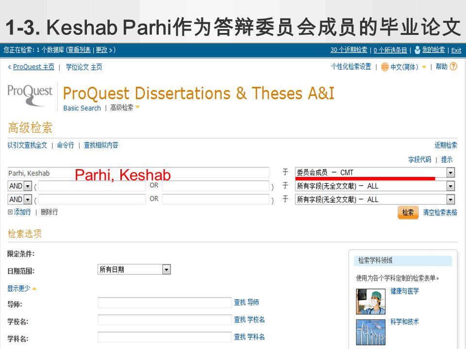 1-3. Keshab Parhi Parhi, Keshab
