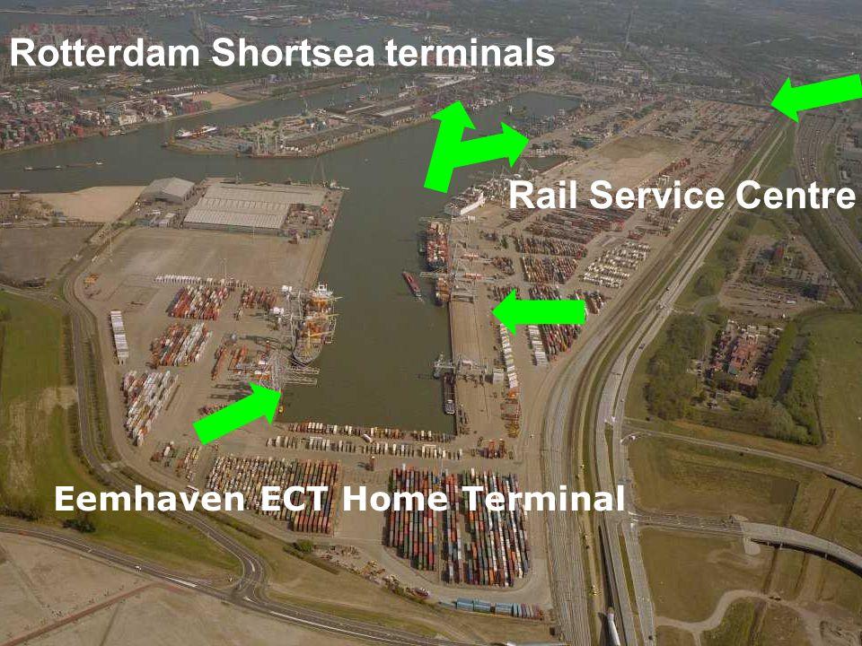 Eemhaven ECT Home Terminal Rotterdam Shortsea terminals Rail Service Centre