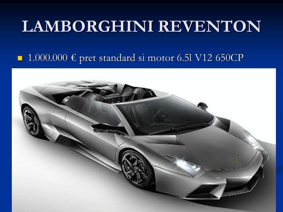 LAMBORGHINI REVENTON 1.000.000 pret standard si motor 6.5l V12 650CP 1.000.000 pret standard si motor 6.5l V12 650CP