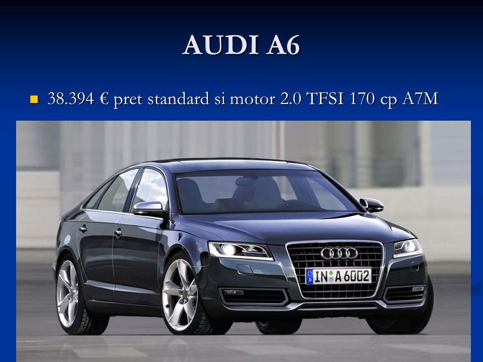 AUDI A6 38.394 pret standard si motor 2.0 TFSI 170 cp A7M 38.394 pret standard si motor 2.0 TFSI 170 cp A7M