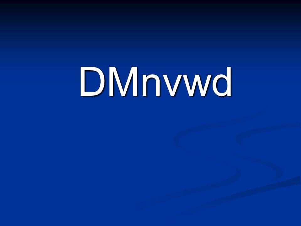 DMnvwd DMnvwd