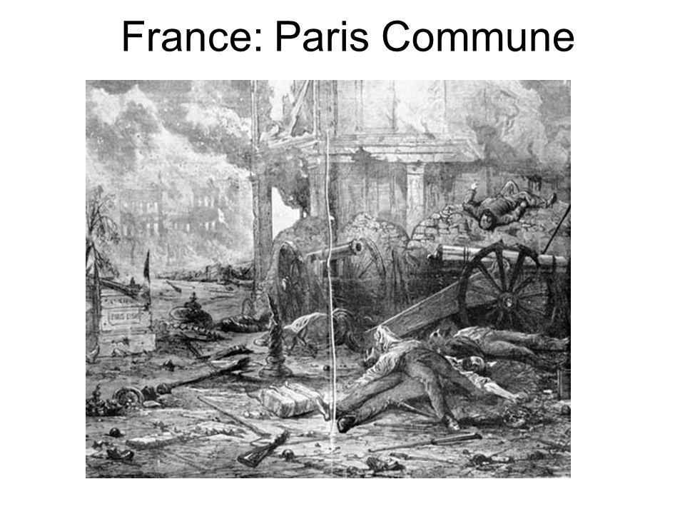 France: Paris Commune