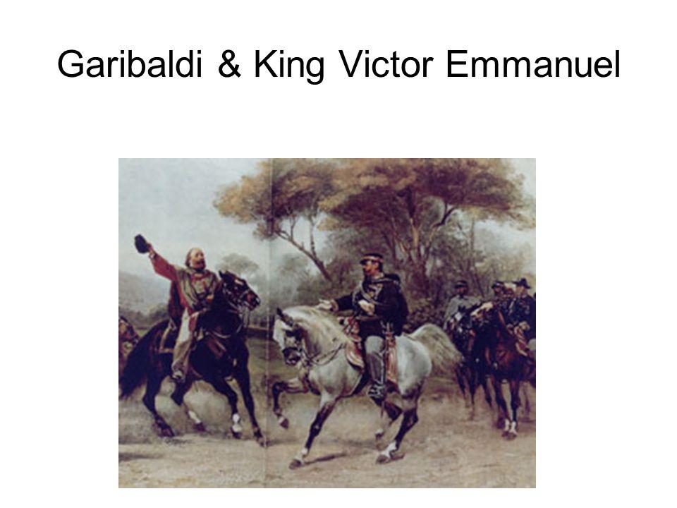Garibaldi & King Victor Emmanuel