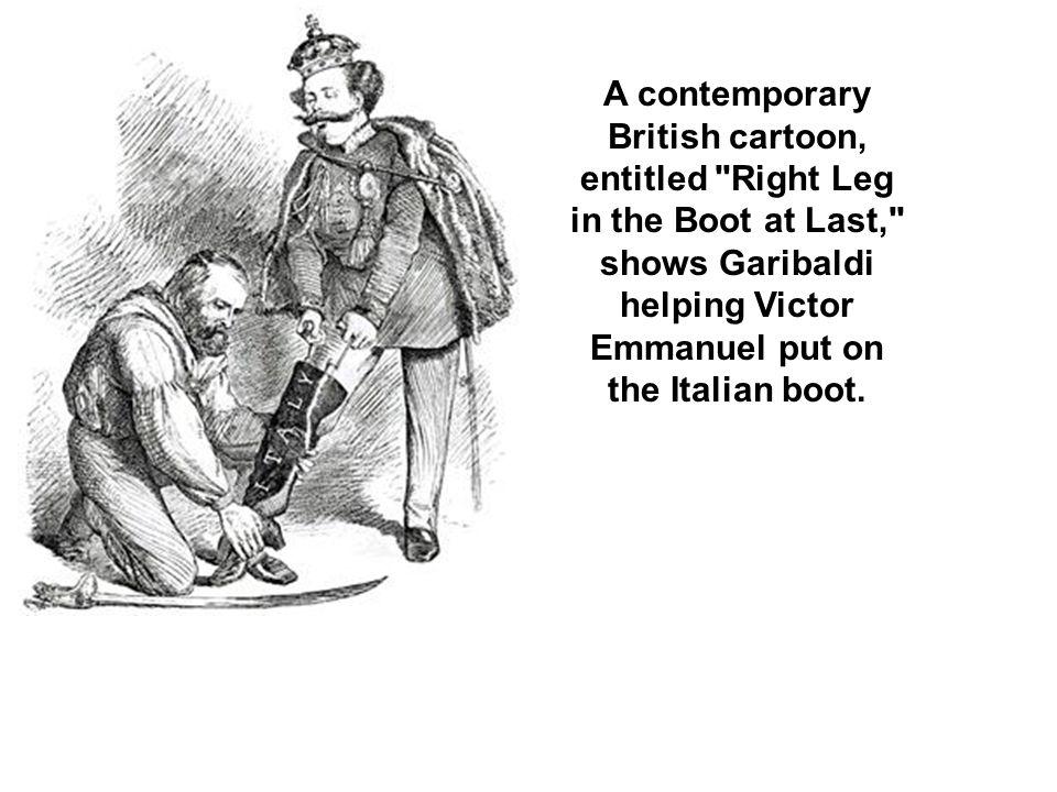 A contemporary British cartoon, entitled