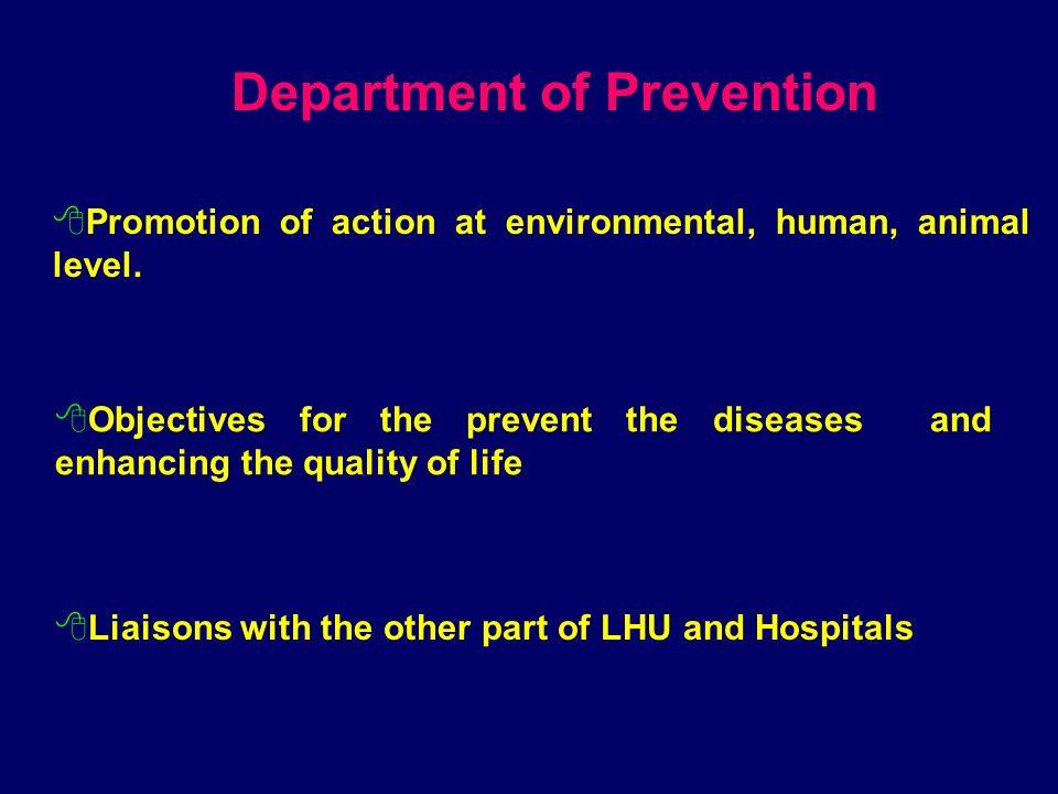 Garantire la tutela della salute collettiva e fornire risposta unitaria ed efficace alla domanda di salute della popolazione attraverso strategie di :