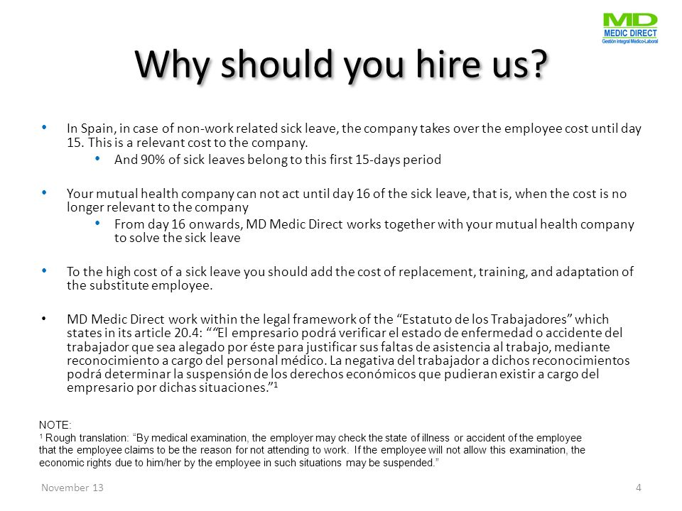 Why should you hire us.
